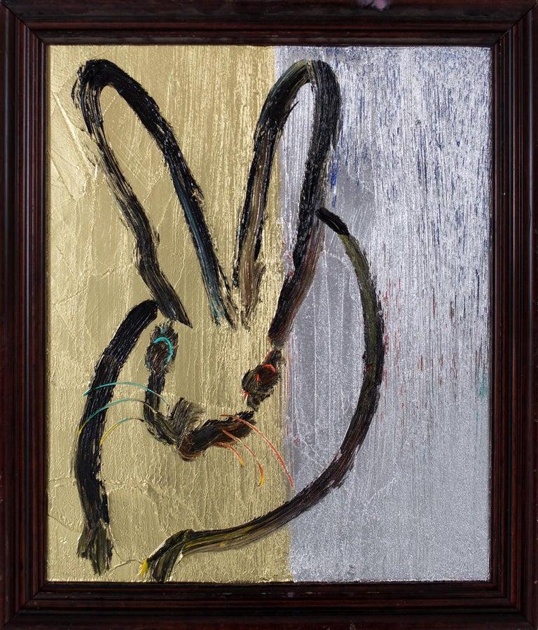 Hunt Slonem Animal Painting - Belle (CER01103)