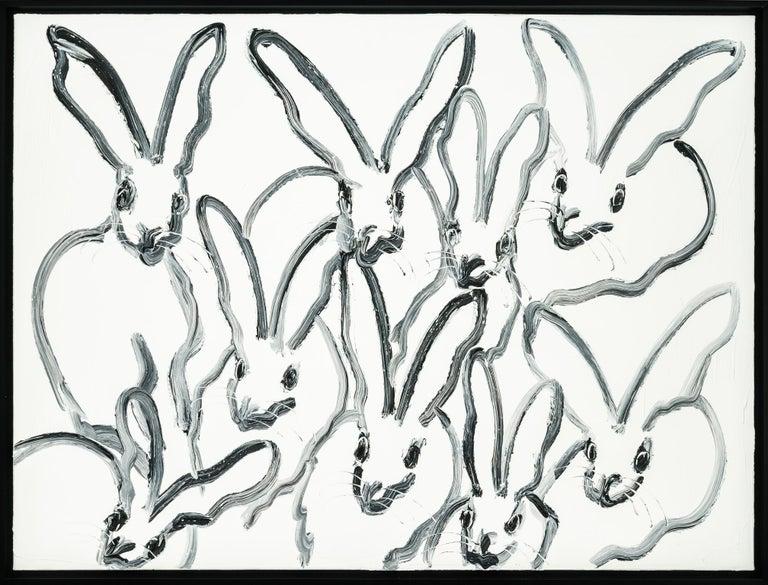 Hunt Slonem Animal Painting - Blizzard