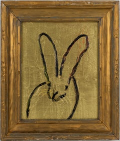 Bunny In Gold