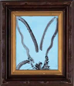 Bunny on Blue