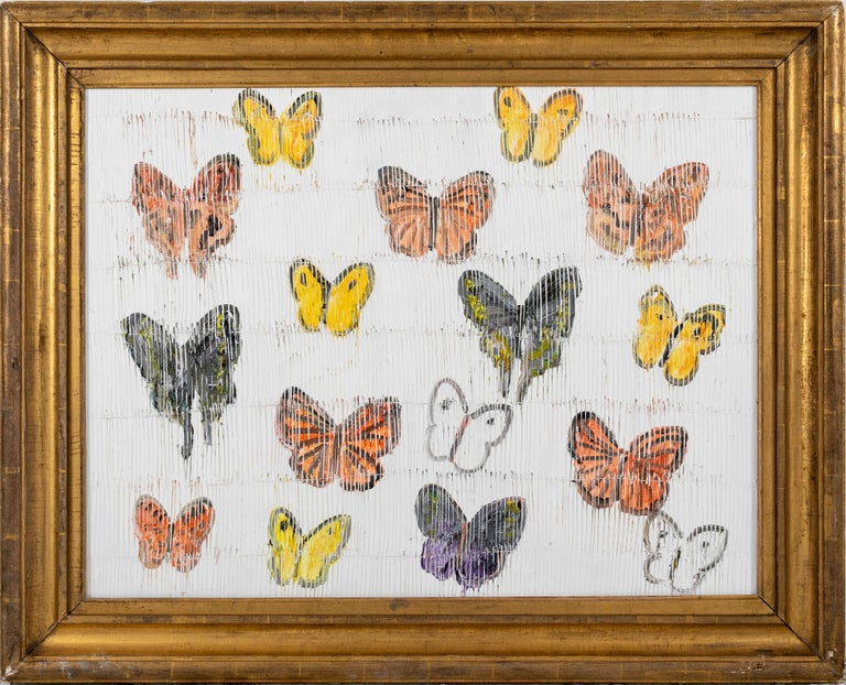 Butterflies - Painting by Hunt Slonem