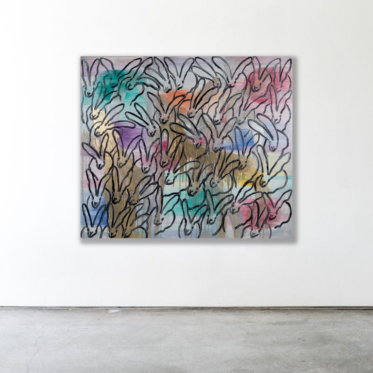 CHINENSIS - Contemporary Painting by Hunt Slonem
