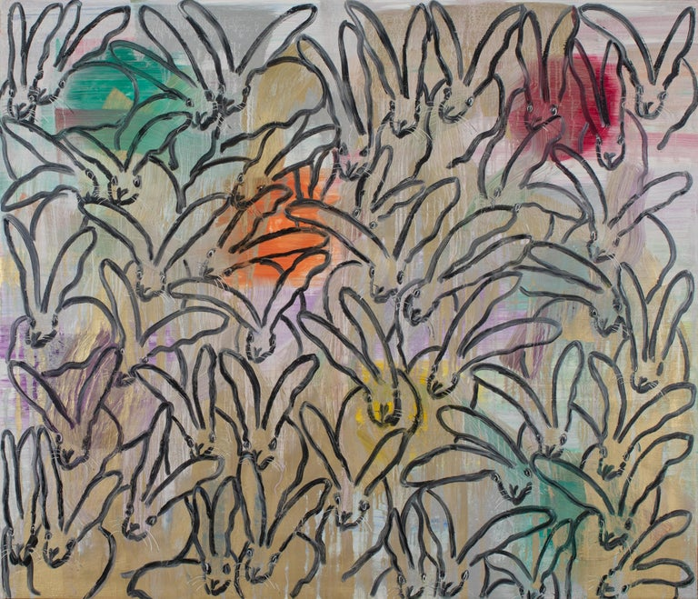 Hunt Slonem Animal Painting - Chinensis La Jolla