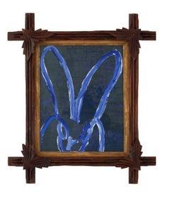 Cobalt Blue Bunny