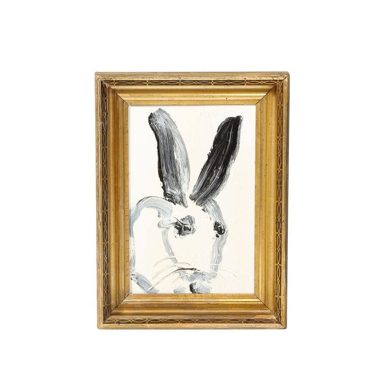 Hunt Slonem Abstract Painting - CS0100 (Bunny Painting)