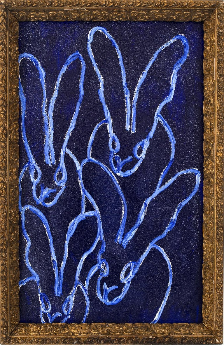 Hunt Slonem Animal Painting - Four