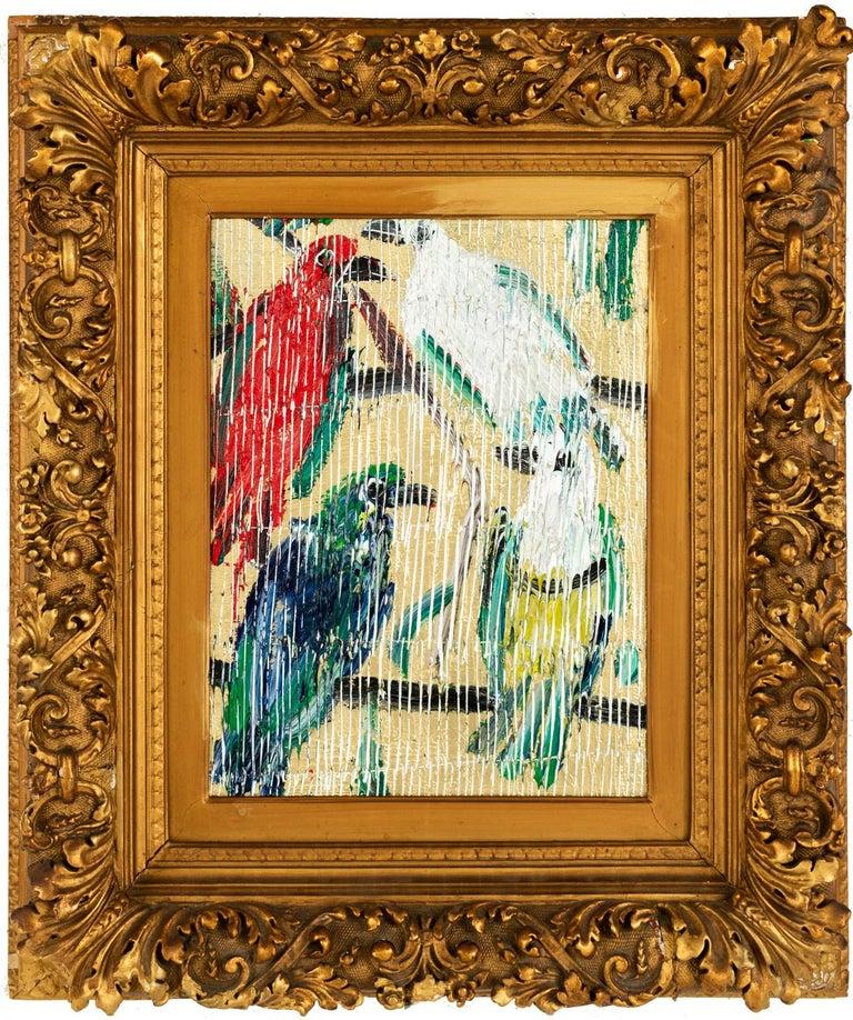 Hunt Slonem Animal Painting - Fruit Doves