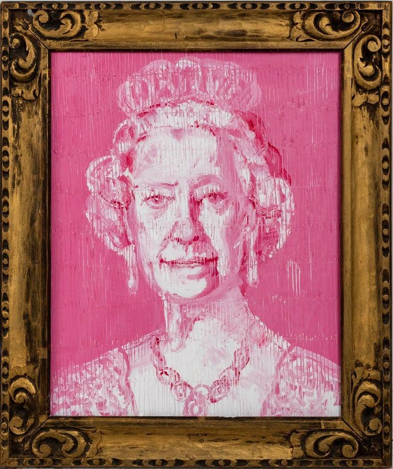 Hunt Slonem Portrait Painting - Her Highness