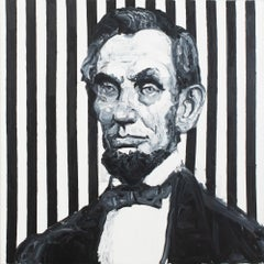 "Hunt Slonem ""Abraham Lincoln"""