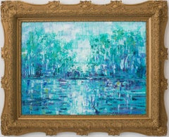 "Hunt Slonem ""Bayou La Fouche (at Madewood Plantation)"""