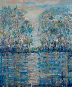 "Hunt Slonem ""Bayou Teche"""