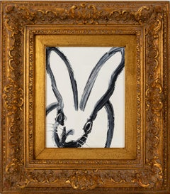 "Hunt Slonem ""Looking Glass"" Bunny"