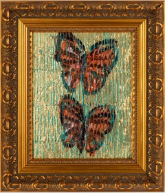 """Hunt Slonem """"Monarchs"""" Metallic Butterflies"""