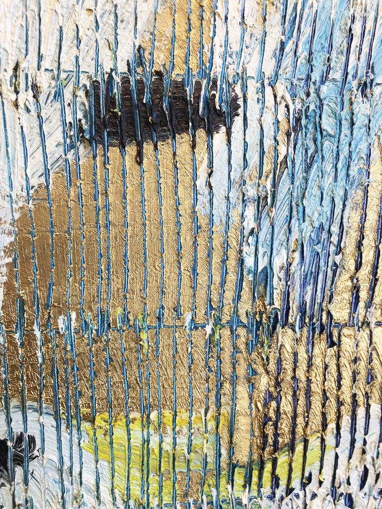 Hunt Slonem parrots painting 'Whispers' For Sale 5