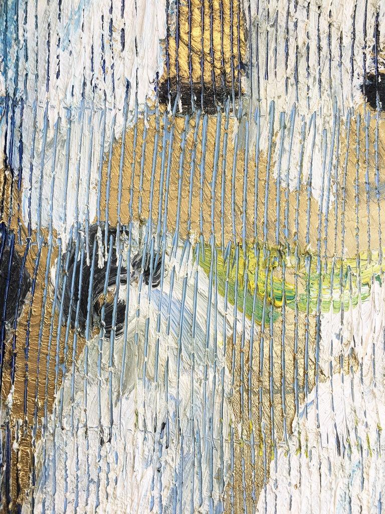 Hunt Slonem parrots painting 'Whispers' For Sale 6