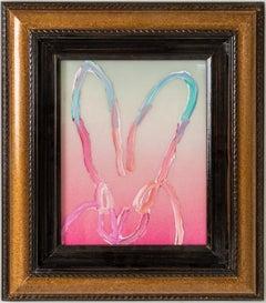"""Hunt Slonem """"Pastels? Debbie"""" Ombre Resin Bunny"""