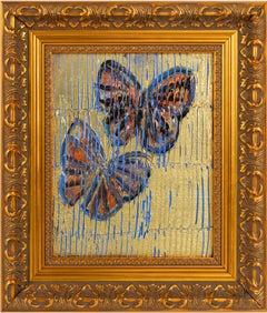 """Hunt Slonem """"Piermont Monarchs"""" Butterflies"""