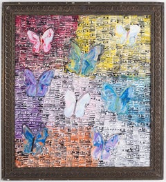 Hunt Slonem Untitled Butterflies