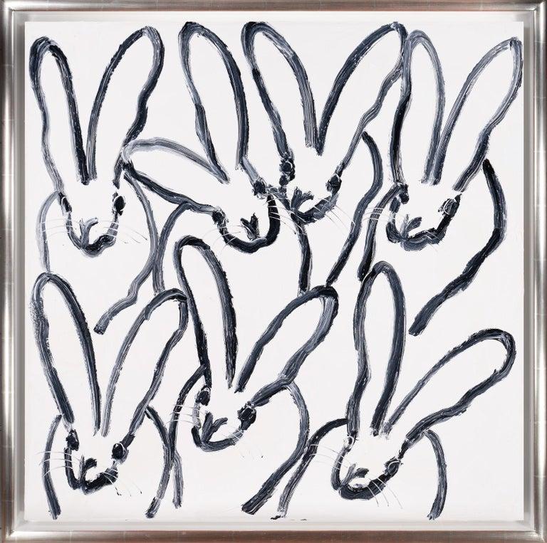 Hunt Slonem Animal Painting - Hutch Mon 2