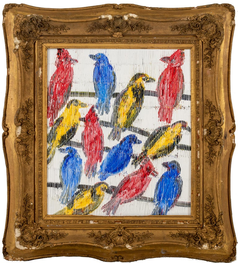 Inspired by nature and his 60 pet birds, Hunt Slonem is renowned for his distinct neo-expressionist style. He is best known for his series of bunnies, butterflies and tropical birds, as well as his large-scale sculptures and restorations of