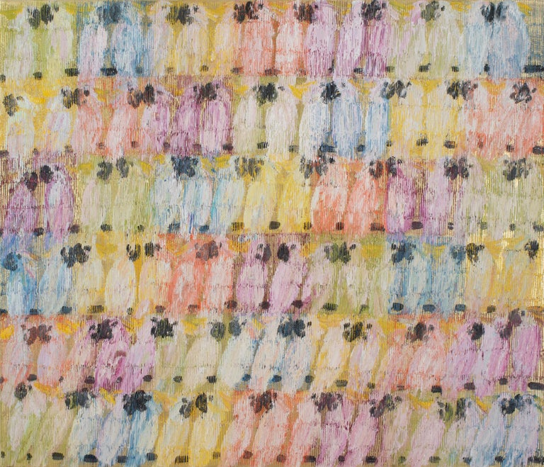 Hunt Slonem Animal Painting - Molucans