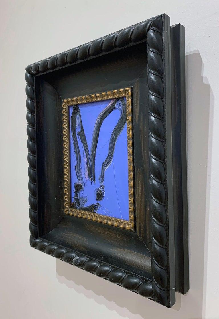 Artist:  Slonem, Hunt Title:  Myconos Series:  Bunnies Date:  2020 Medium:  Oil on panel Unframed Dimensions:  8