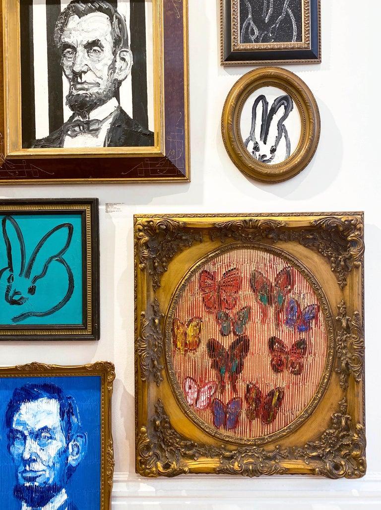 Artist:  Slonem, Hunt Title:  Painted Lady Series:  Butterflies Date:  2020 Medium:  Oil on panel Unframed Dimensions:  23