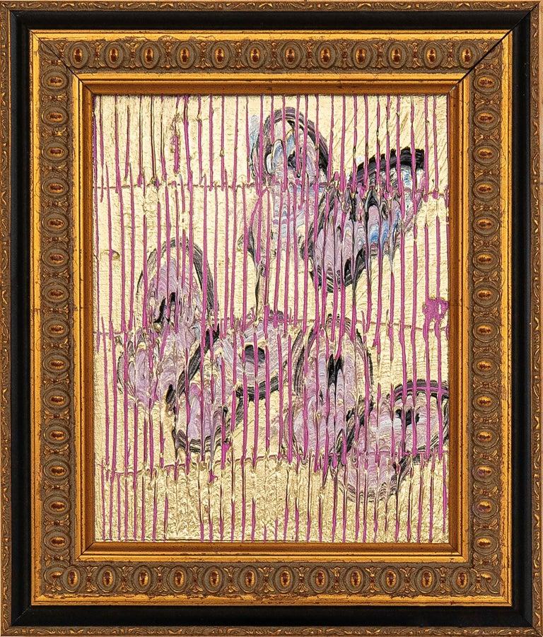 Pink Ascension - Painting by Hunt Slonem