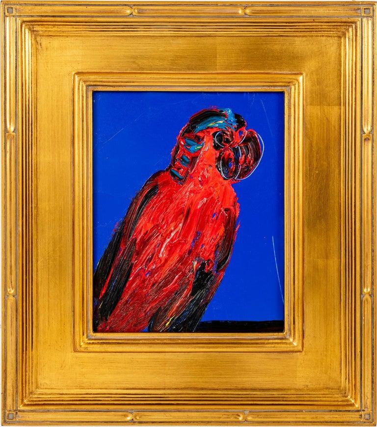 Hunt Slonem Animal Painting - Red Lory