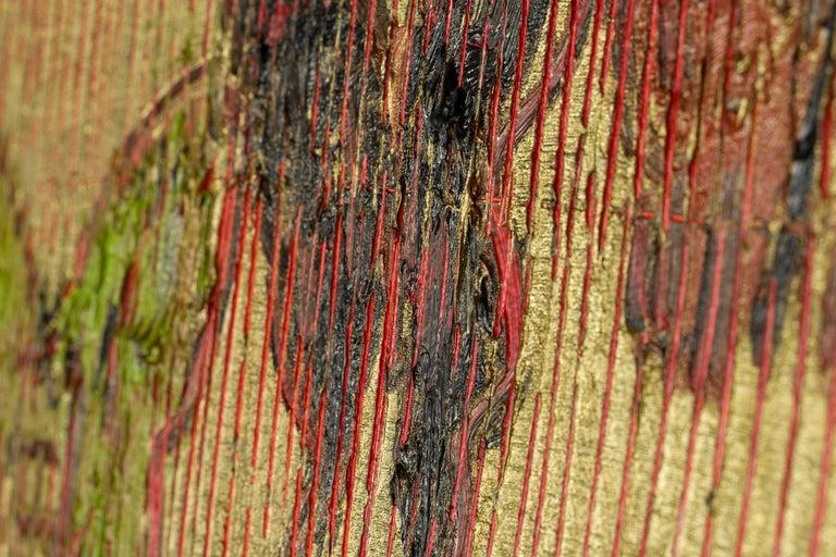 Red Sea - Brown Animal Painting by Hunt Slonem