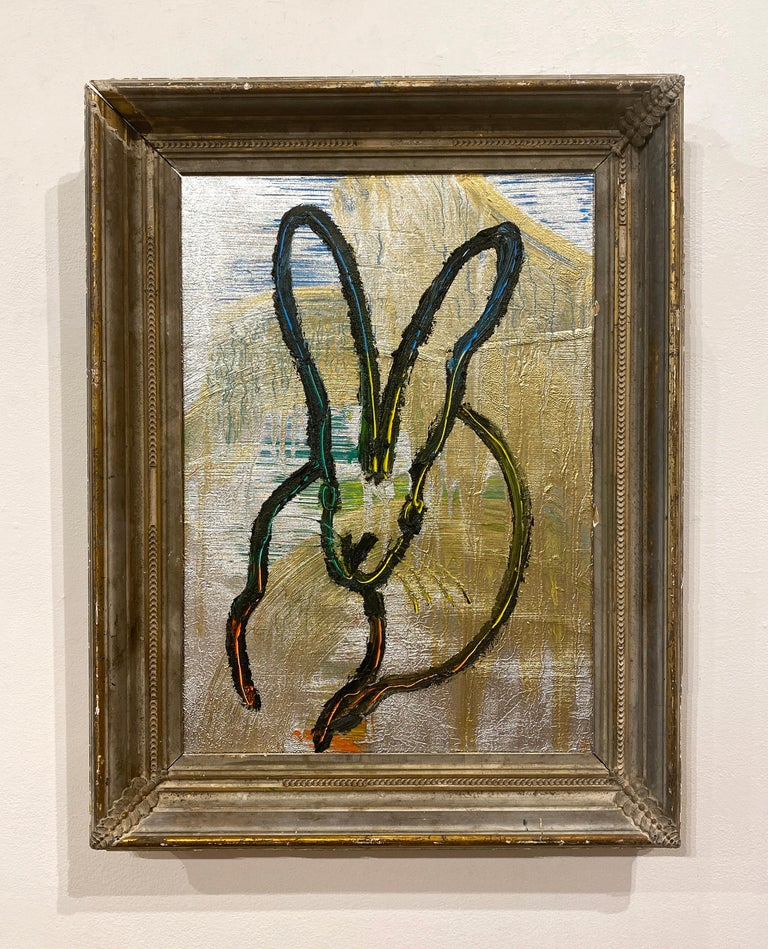Scored - Contemporary Painting by Hunt Slonem