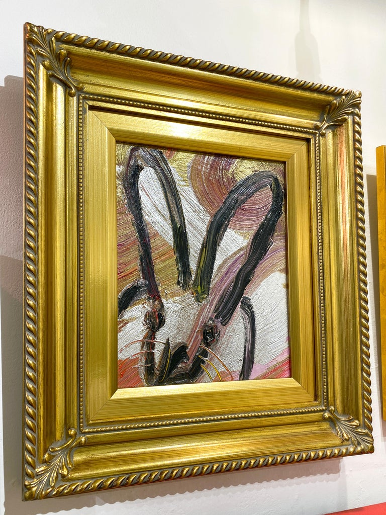 Silverado - Brown Animal Painting by Hunt Slonem