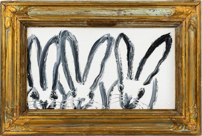 Hunt Slonem Animal Painting - Three Play