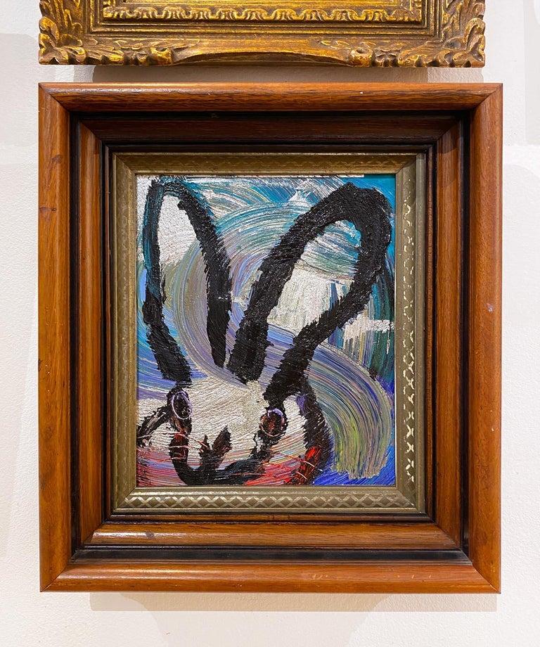 Totem Weds. 2 - Painting by Hunt Slonem