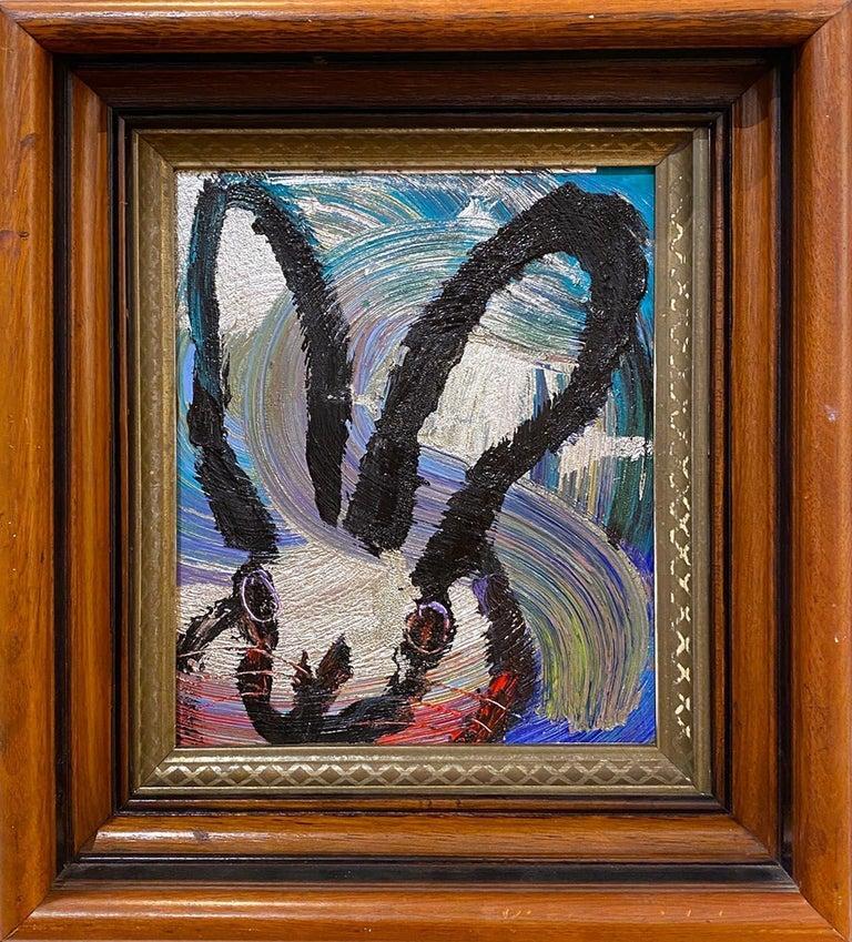 Hunt Slonem Animal Painting - Totem Weds. 2