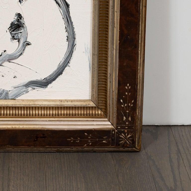 Untitled (0673) - Beige Animal Painting by Hunt Slonem