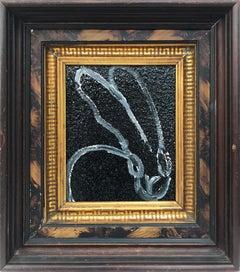 Untitled (Bunny on Black Diamond Dust)