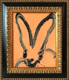 Untitled (Bunny on Cantaloupe Orange)