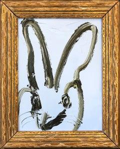 Untitled (Bunny on Carolina Blue)