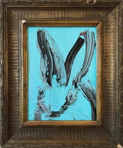 Untitled (Bunny on Chataqua Aqua)