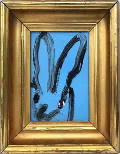 Untitled (Bunny on Mid Royal Blue)