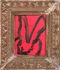 Untitled (Bunny on Red)
