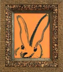Untitled (Bunny on Tangerine Orange)