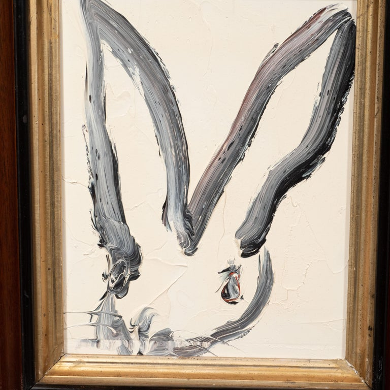 Untitled (Bunny Paintiing) ATC691 - Neo-Expressionist Painting by Hunt Slonem