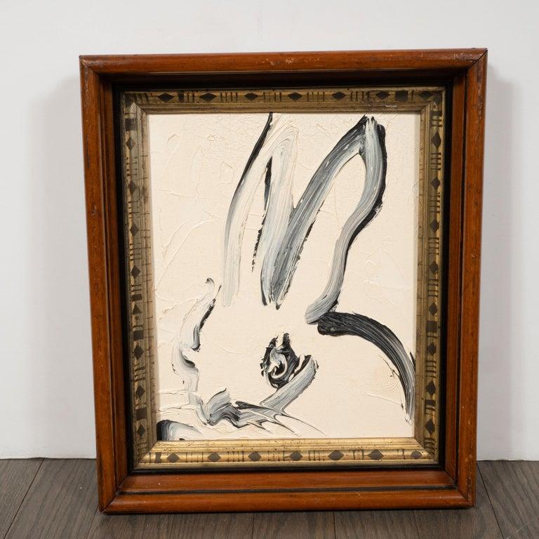 Hunt Slonem Animal Painting - Untitled (Bunny Painting) CKS0134