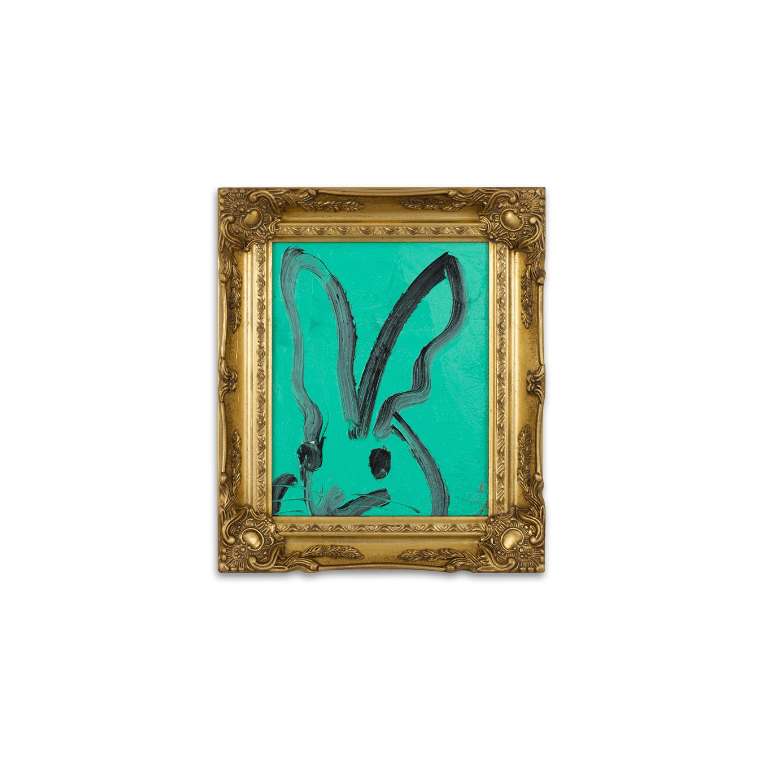 UNTITLED Teal Bunny