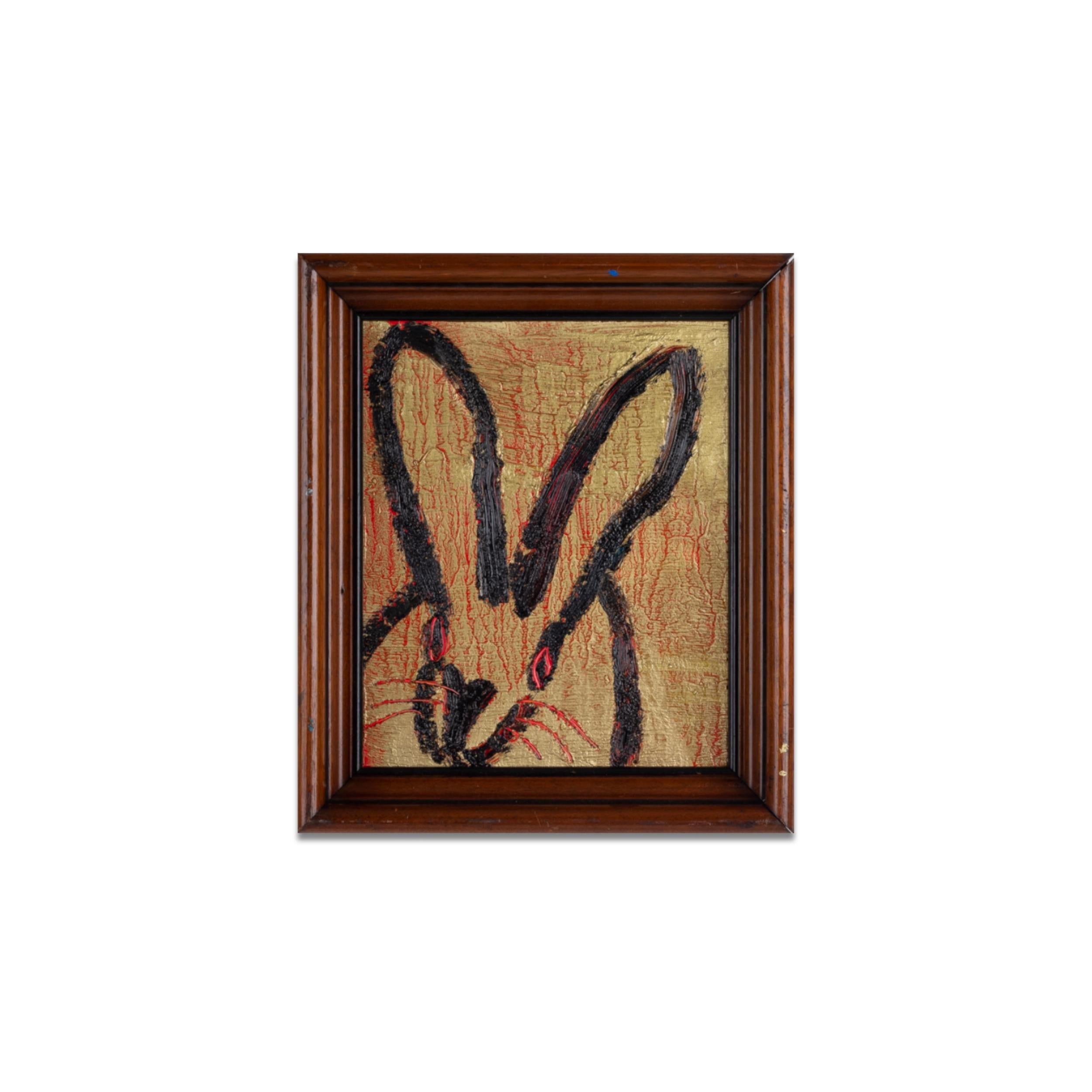 UNTITLED Gold Bunny