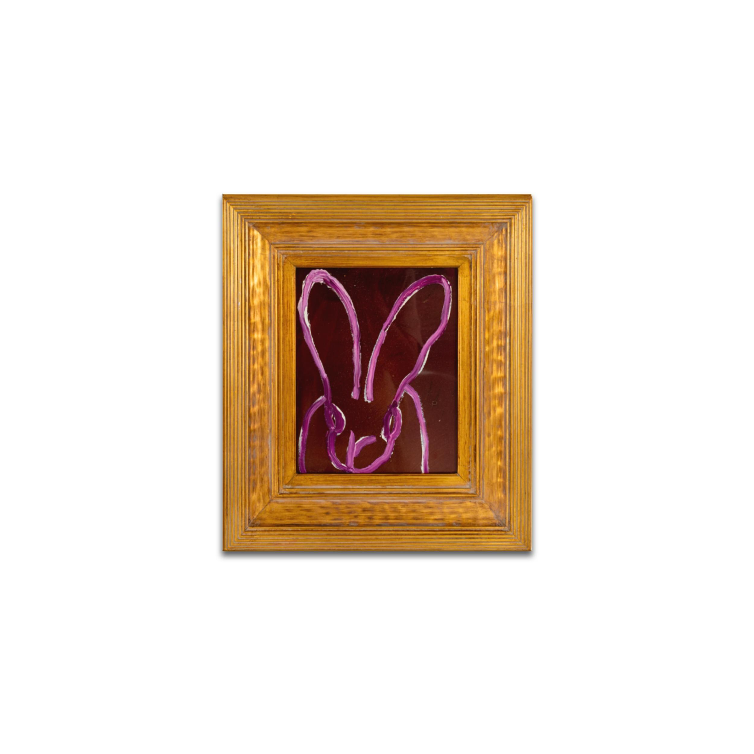 UNTITLED Purple Bunny
