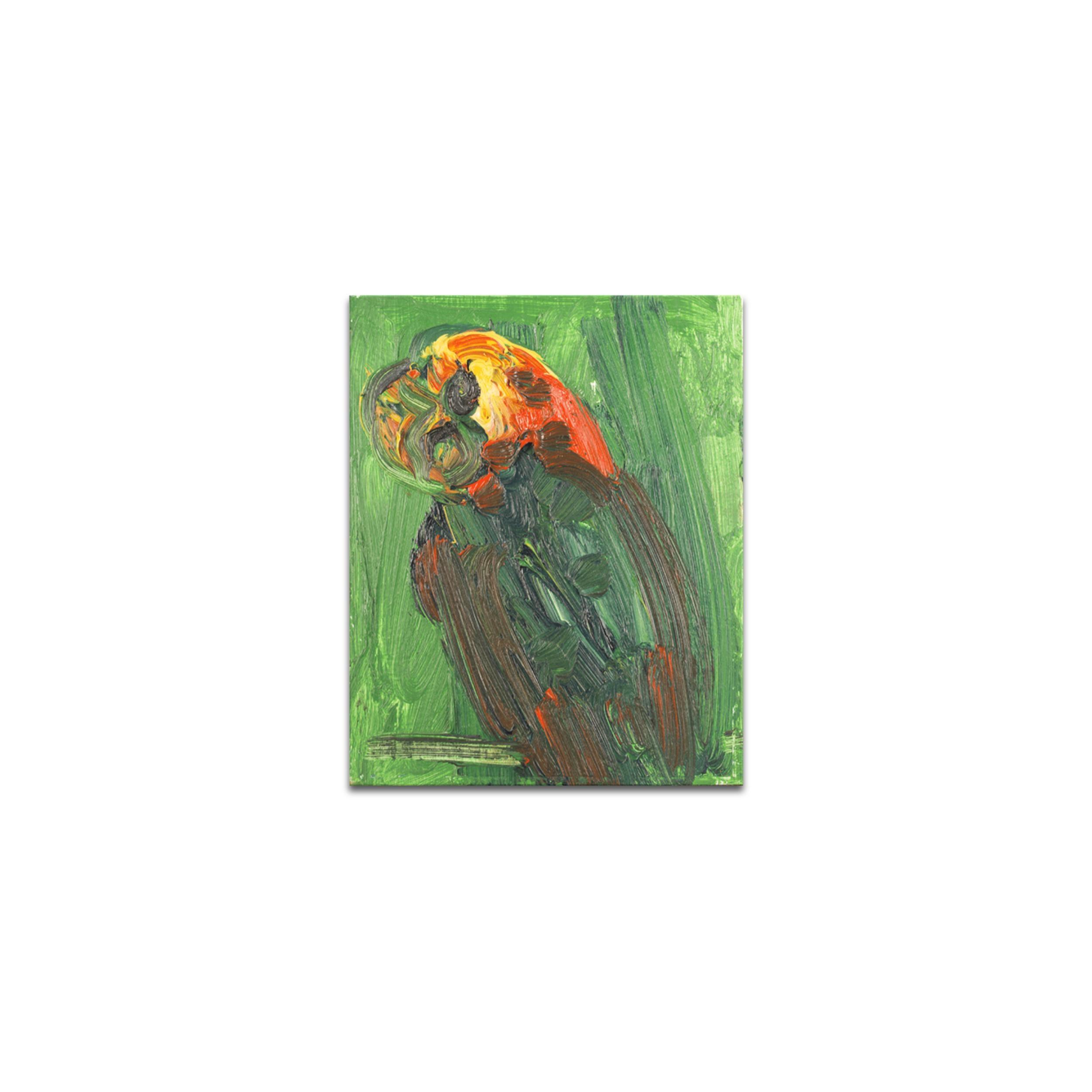 UNTITLED Green Bird
