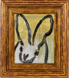 Untitled (Gold & Silver Bunny)